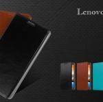 เคสหนังฝาพับ Lenovo K910 (Vibe Z) ยี่ห้อ MOFi Leather Slim