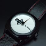 นาฬิกาข้อมือ EYKI เข็มเดี่ยว หน้าปัดเงิน