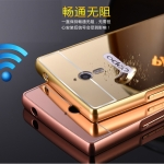 Luxury Mirror Bumper สำหรับ Oppo Find 7 / 7A