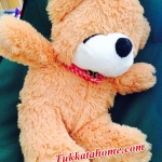 ตุ๊กตาหมีหลับ ตุ๊กตาหมีตัวเล็ก น่ารัก ขนาด 45 เซ็นติเมตร สีน้ำตาลอ่อน