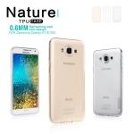 เคสยางนิ่ม บางเฉียบ Samsung Galaxy E7 ยี่ห้อ Nillkin