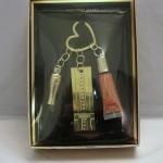Victoria's Secret dream angels heavenly gold key ring Swarovski crystal ไม่มีลิปกลอส