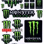 สติ๊กเกอร์ Monster 12