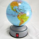 ลูกโลกขนาดเส้นผ่าศูนย์กลาง 10 cm.แบบใส่ถ่าน