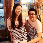 เสื้อคู่รัก สกรีนลายขวางสีดำสลับขาว คู่กันชาย+หญิง