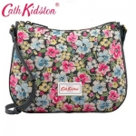 (Pre-order) Cath Kidston Canvas & Leather Cross Body Bag