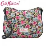 (Pre-order) Cath Kidston Canvas & Leather Cross Body Bag