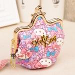 [Preorder] กระเป๋าใส่เหรียญ Hello Kitty แบบที่ 6 (2 ใบ/แพ็ค คละแบบได้) Korean Japanese hello kitty purse Korean cute cartoon fashion ladies bag change clip coins