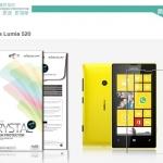 ฟิล์มหน้าจอ Nokia Lumia 520 / 525 เกรดพรีเมี่ยม ยี่ห้อ NILLKIN