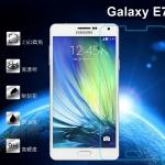 ฟิล์มกระจกนิรภัย Tempered Glass สำหรับ Samsung Galaxy E7