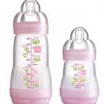 ขวดนมมัม MAM Thailand สีชมพู 5.5oz และ 9oz Gift set ชุดของขวัญขวดนมมัม MAM