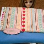 ผ้าอเมริกา27x45 cm+ผ้าลูกฟุกหาในไทย27x50 cm