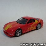 โมเดลรถยนต์ สเกล 1/64 Racing champions mazda rx-7 The Fast and the Furious 2