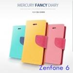 เคสไดอารี่ Asus Zenfone 6 รุ่น Mercury Fancy Diary