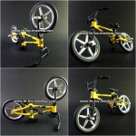FINGER BICYCLE YELLOW 02