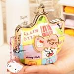 [Preorder] กระเป๋าใส่เหรียญ Hello Kitty แบบที่ 1 (2 ใบ/แพ็ค คละแบบได้) Korean Japanese hello kitty purse Korean cute cartoon fashion ladies bag change clip coins