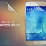 ฟิล์มด้าน ลดรอยนิ้วมือ Samsung Galaxy J7 เกรดพรีเมี่ยม ยี่ห้อ Nillkin Anti-Glare