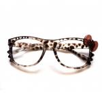 กรอบแว่นอคริลิค Hello Kitty Leopard