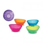 จานชามเด็ก Munchkin BPA Free Multi Bowls - 5-Pack