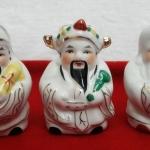 สินค้าหมดค่ะ เทพฮกลกซิ่ว องค์เล็กสีขาว แก้ชงปีมะแม ชง25% ปี2561 ช่วยเสริมดวงท่านให้ดีขึ้นค่ะ