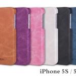 กรอบหนัง iPhone 5S / 5SE สไตล์วินเทจ ยี่ห้อ MOFi Vintage Cover