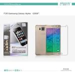 ฟิล์มด้าน ลดรอยนิ้วมือ Samsung Galaxy Alpha เกรดพรีเมี่ยม ยี่ห้อ Nillkin