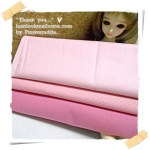MARCH58Pack30 : ผ้าจัดเซตผ้าในตลาดไทย คอตตอน 3ชิ้น ขนาดผ้าแต่ละชิ้น 50 X 55cm