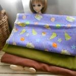ผ้าอเมริกา 1ชิ้น +ผ้าลูกฟูกซื้อในไทย 2 ชิ้น (ขนาดแต่ละชิ้น27x 45-50 cm) รวมเป็น3 ชิ้น