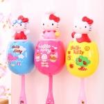 Sanrio Hello Kitty toothbrush holder ลายสีเหลืองนะคะ