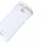 Case HTC One x Rock Color- ful - สีขาว