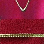 สร้อยคอทองลายกระดูกงูสี่เสาทำจากเหรียญ25,50ส.ต.(ใส่คู่กับพระได้) แบบสั้นค่ะ