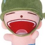 ตุ๊กตาพลทหารพราน ตัวเล็กน่ารักๆๆ  หน้าหัวเราะ อ้าปากกว้าง หลับตา ตัวเล็กขนาด 23  CM