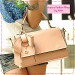 [Preorder] กระเป๋าแฟชั่นเก๋ๆ ประดับโบว์น่ารักสีชมพู 2012 summer new Korean bow bags handbags handbags Messenger handbags