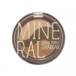 Skinfood Mineral Sugar Triple Shadow #3 Yellow Khaki