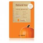 The Saem Natural-tox Pumpkin Mask Sheet มาส์กชีท ที่สกัดจากฟักทองมีเบต้าแคโรทีน ช่วยให้ผิวชุ่มชื้น สุขภาพดี สำเนา
