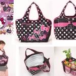 Hello Kitty cooler shopping bag jumbo size จากนิตยสาร Ryu Ryu Japan