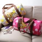 (Preorder พฤศจิกายน 57) กระเป๋าเดินทางทรงdrum Rilakkuma 2 แบบ 2 สีค่ะ