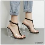 (พร้อมส่ง)รองเท้าคัทชู ส้นสูง แฟชั่น ราคาถูก มีไซด์ 38(เหมาะกับเท้า 37 ค่ะ)
