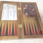 แบ็กเกมมอนไม้(ชุดเล็ก)