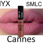 งดร่วมโปรทุกชนิด NYX SOFT MATTE LIP CREAM #SMLC19 CANNES