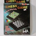 หมากรุกฝรั่งและบอร์ดเกมอื่นๆอีก4เกม(Chess Game 5 In 1)