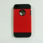 เคสไอโฟน 4/4S SLIM Armor สีแดง