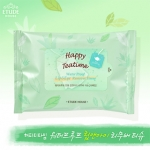 Etude House Happy Teatime Water Proof Lip Eye Remover Tissue (15 แผ่น)
