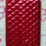 เคส iPad Mini : Diamond Luxury (สีแดง)