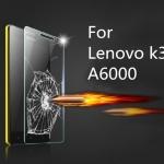 ฟิล์มกระจกนิรภัย Tempered Glass สำหรับ Lenovo A6000 / K3