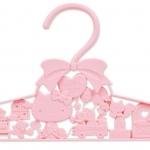 คุ้มค่าน่าใช้จ้า Hello Kitty ไม้แขวนเสื้อใหญ่ลาย 3 มิติ งานญี่ปุ่นนะคะ