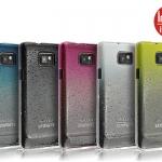 เคสแข็งบางลายหยดน้ำ Samsung Galaxy S2 - I9100 รุ่น Imak RainDrop