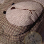 กระเป๋าสตางค์ปากบีบหน้าหมี