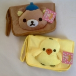 พร้อมส่งค่ะ Rilakkuma travel zip purse/ organizer/ passport holder