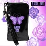 Anna Sui iPhone case พร้อมจี้รูปผีเสื้อ